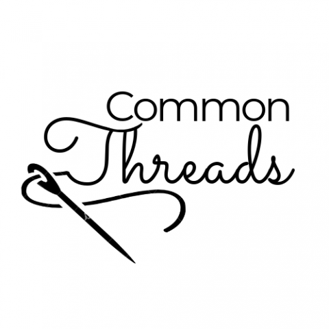 Common Threads logo, craft, The Ark, Craftivism, activism, Lucy Zwolinska, Janet Capstick